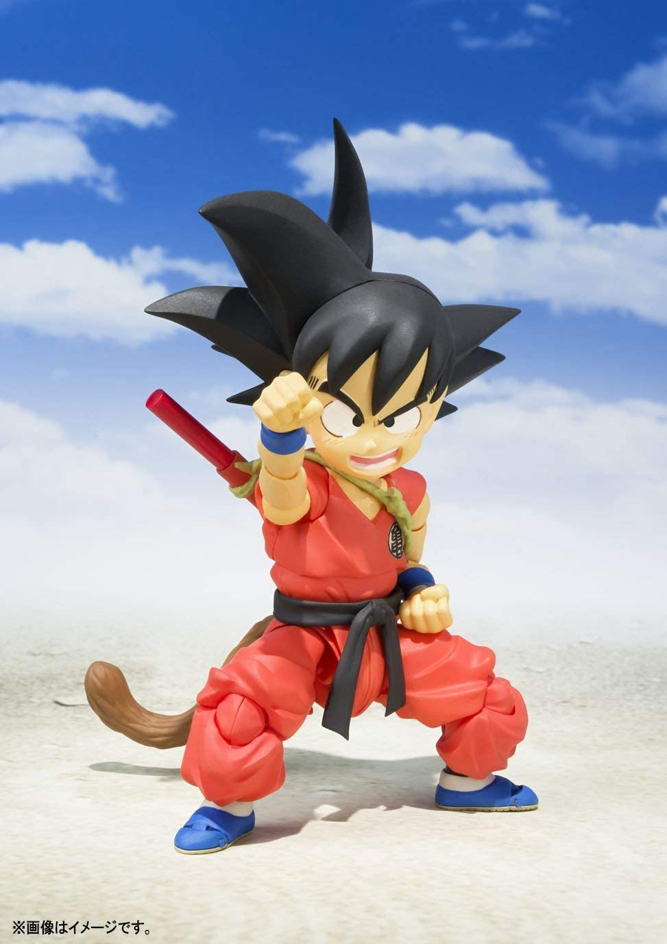 BANDAI DRAGON BALL KID GOKU SHF FIGUARTS 11CM