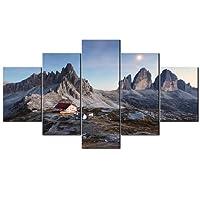 VIIVEI Il paesaggio di montagna Giclee canvas Prints Artwork Modern Home Wall Decor quadro su tela dipinti a foto su tela Wall Art contemporaneo paesaggio cornice pronta da appendere
