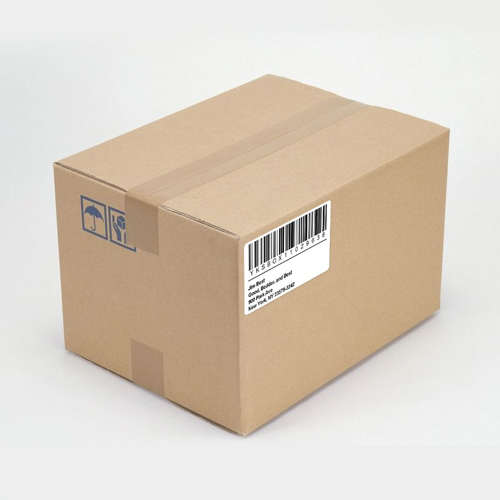 Compatible DYMO LabelWriter (LW) 30256 2-5/16'' x 4''(59 mm x 102 mm) Shipping Labels Bright White 300 Labels/Roll,4 Roll by COLORWING (Image #7)