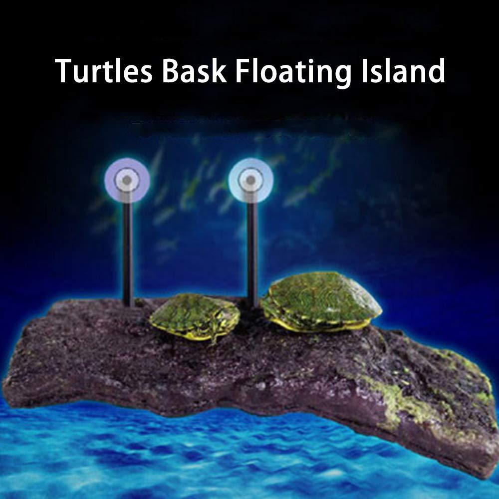 Turtle Dock Platform,Floating Turtle Pier Rectangular,Aquarium Float Decoration Terrace Climb Brazilian Tortoise
