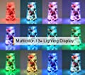Homestarry Fairy Lights Plug in Multi Color Change Remote String Lights Fairy Lights with Timer, 33 ft 100 LEDs Firefly Twinkle Lights for Indoor, Bedroom, Party, Wedding, Christmas Decor, 16 Color