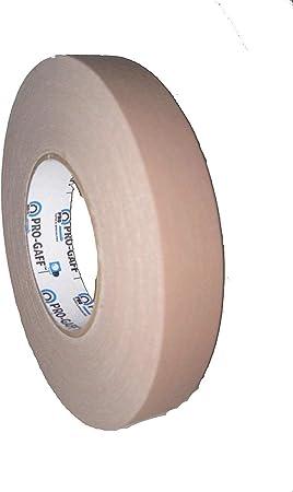 Beige Gaffers Tape 2 inch x 55  yards Pro Gaff Tan