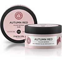 Maria Nila Colour Refresh Autumn Red 100 ml - En Vårdande Färgbomb som Innehåller Tillfälliga Färgpigment som Snabbt…