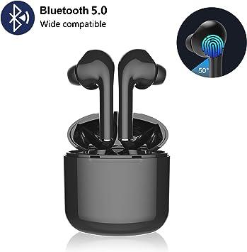 Bluetooth Earbuds Bluetoooth 5.0 Headphones Wireless Earbuds 30H Cycle Playtime in-Ear Wireless Headphones Hi-Fi Stereo Sweatproof Earphones Sport Headsets Buit-in Mic for Work//Running//Travel//Gym 01
