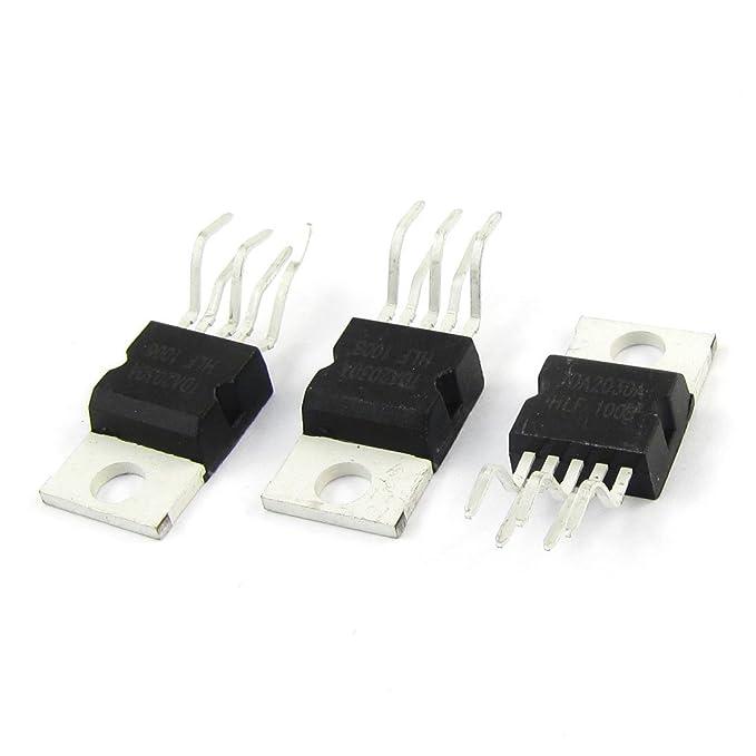3 Pcs TDA2030A Individual Op Amp Audio Amplificador Operacional IC Chips de 5 Pin: Amazon.es: Electrónica