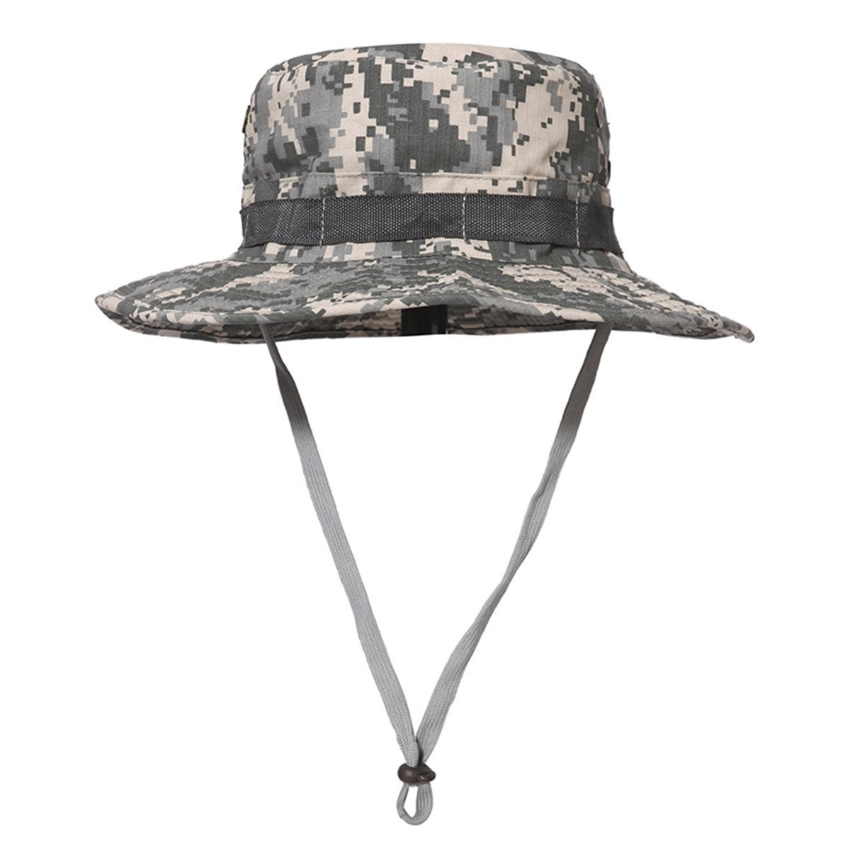 Army Men Tactical Sniper Hats Camouflage Boonie Hats Nepalese Cap Mens Military Fish Hats