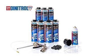Dinitrol Medium Rustproofing Kit Undercoating Gun Amazoncouk