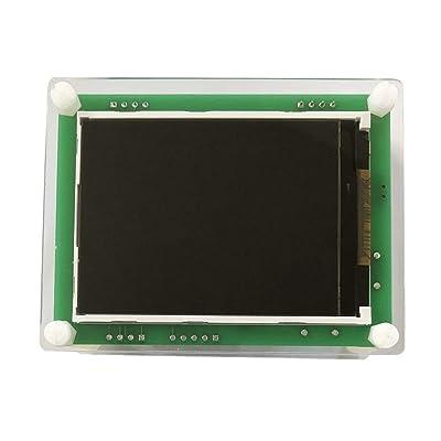 2.8 pulgadas TFT pantalla Coche PM2.5 Detector de calidad del aire Partículas de aire digital Medidor Medidor Probador AQI Monitor de gas en el hogar -negro: Hogar