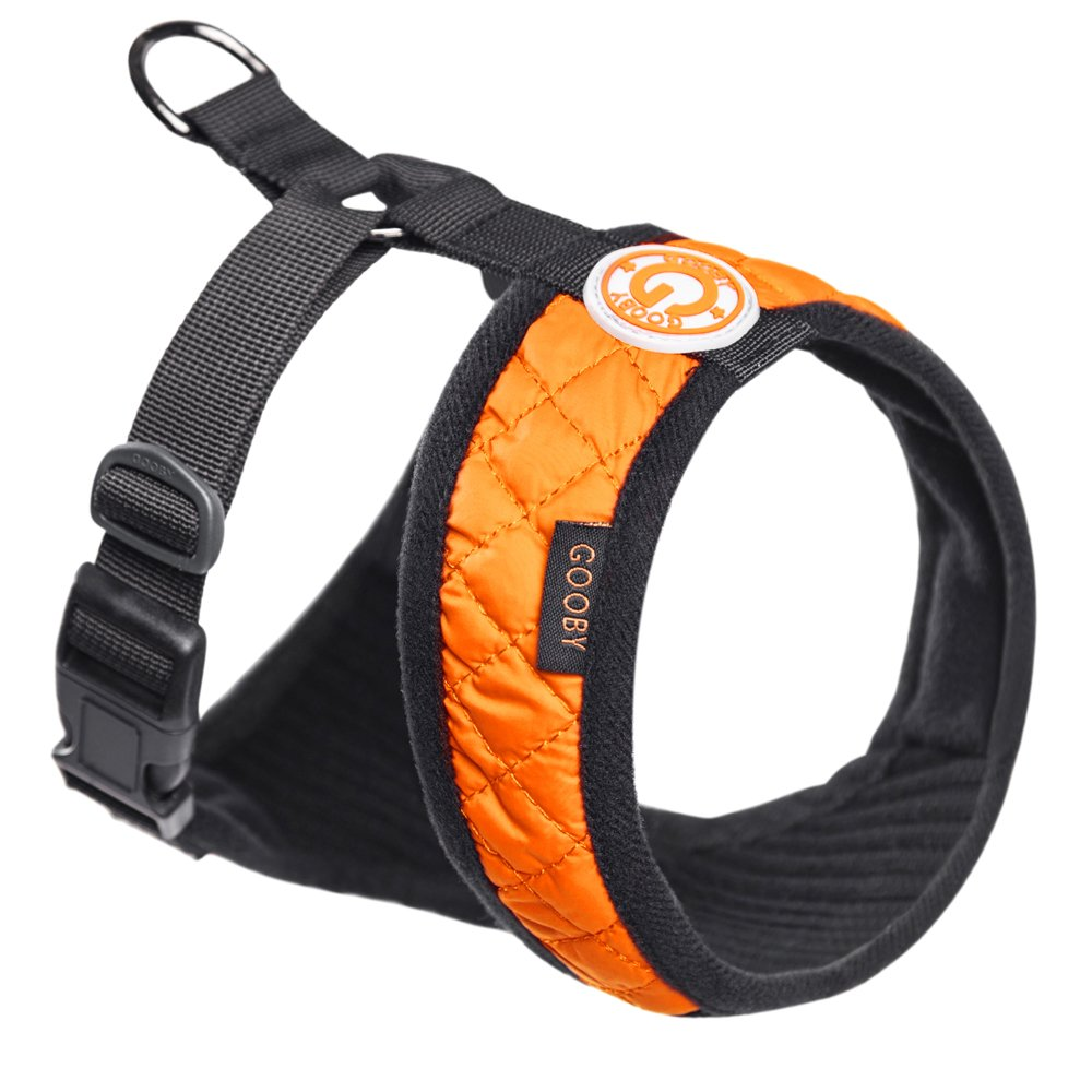 orange X-Small chest (8\ orange X-Small chest (8\ Gooby Fashion Vest Harness Broad Chested Dogs, orange, X-Small