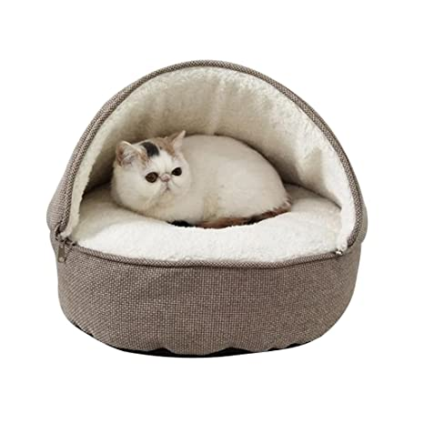 Amazon.com : GF Pet Bed Kennel Teddy VIP Cat Small Dog Bed Pet Supplies Indoor Foldable wear-Resistant bite-Resistant pet nest!