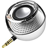 E-More 高音質ミニポータブルスピーカー PCスピーカー USB充電 スピーカー サブウーファー  デスクトップ/ラップトップ /タブレットPC /スマートフォン (white)