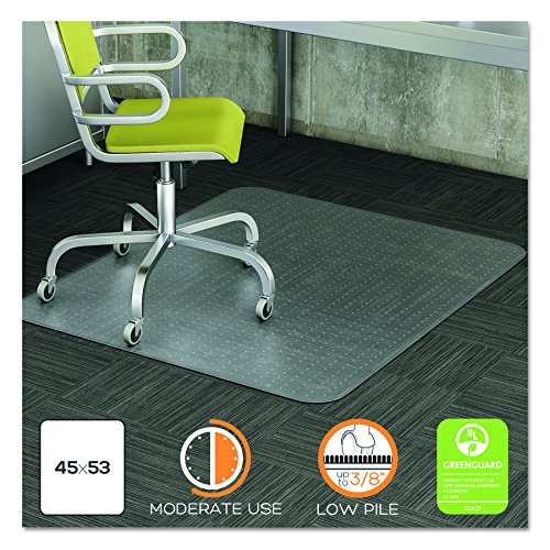 DuraMat Moderate Use Chair Mat for Low Pile Carpet, 45