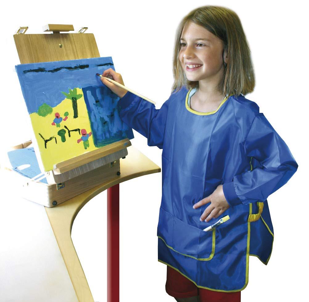 Eduplay Malkittel für Kinder blau, Universalgröße Universalgröße Eduplay_240009