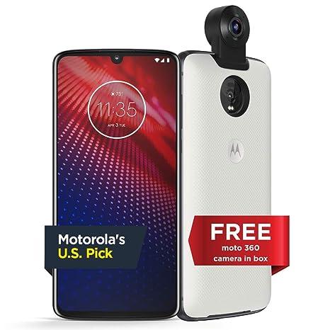 Moto Z4 – Unlocked – 128 GB – Flash Gray (US Warranty) - Verizon, AT&T,  T-Mobile, Sprint, Boost, Cricket, Metro