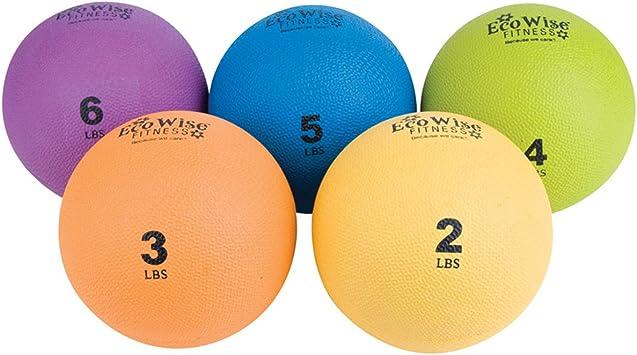 EcoWise pelota de peso (4 libras. – Kiwi): Amazon.es: Deportes y ...