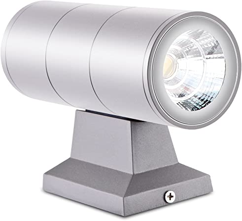 New LED Wall Light Fixtures Indoor//Outdoor Use Striking Up//Down Lighting Affect