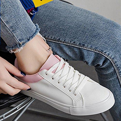 03 de Harajuku de mujer Para Colores Zapatos Elegir Zapatos Lona Blancos Zapatos Tres Nan Verano gSpUq6