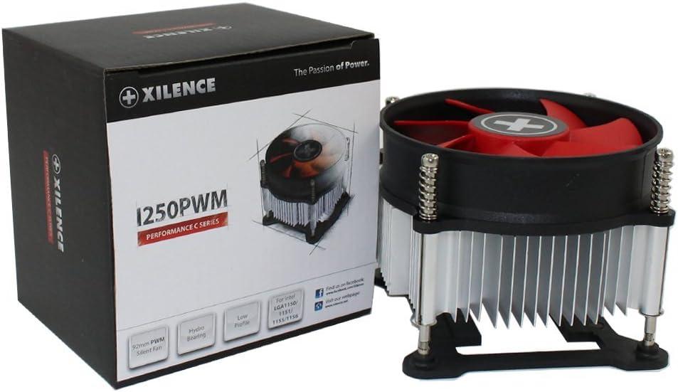 Xilence XC032 - Ventilador de PC (Procesador, Enfriador, LGA 1150 (Zócalo H3), LGA 1151 (Zócalo H4), LGA 1155 (Socket H2), LGA 1156 (Socket H), Intel® Pentium® G, 9,2 cm, 800 RPM)
