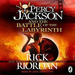 Percy Jackson and the Battle of the Labyrinth Hörbuch