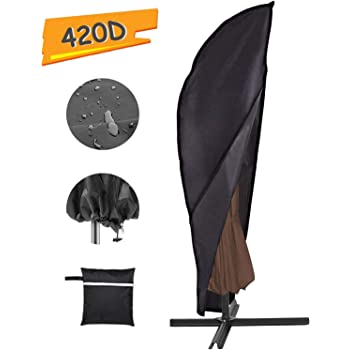 Grand Patio Deluxe Patio Umbrella Cover For 9 To 10 Ft Offset