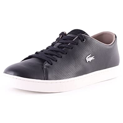 Lacoste Openworked Leather Showcourt Mens Trainers