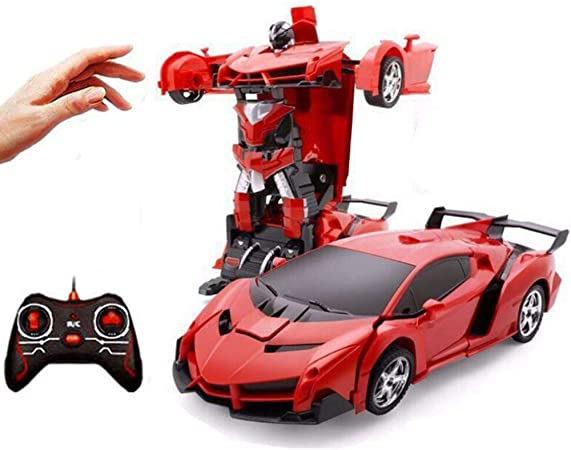 Tawcal Transform Car Robot,Jouet de Voiture de Robot de d/éformation t/él/écommand/é,avec Fonction de d/émonstration de d/éformation Automatique en Un clic,D/érive /à 360 /°,Cadeau Enfants