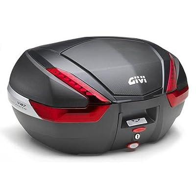 Givi V47NN 47ltr Monokey Top Case w/Carbon Fiber accent: Automotive