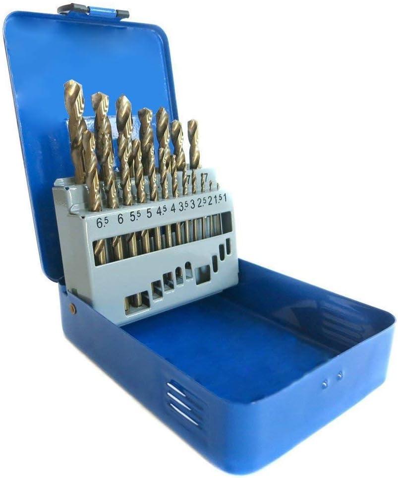 Outils De Forage Foret Set de H/élico/ïdaux Forets bois 1-10mm DIN338 170 pcs UISEBRT Forets /à m/étaux HSS Titane