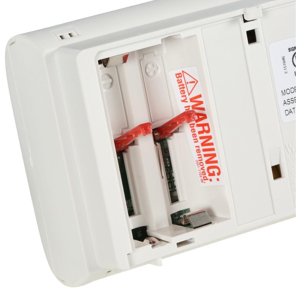Kidde 21025788 Battery Operated Carbon Monoxide Detector Alarm Model KN-COB-B-LPM, 6-Pack, 6 Pack