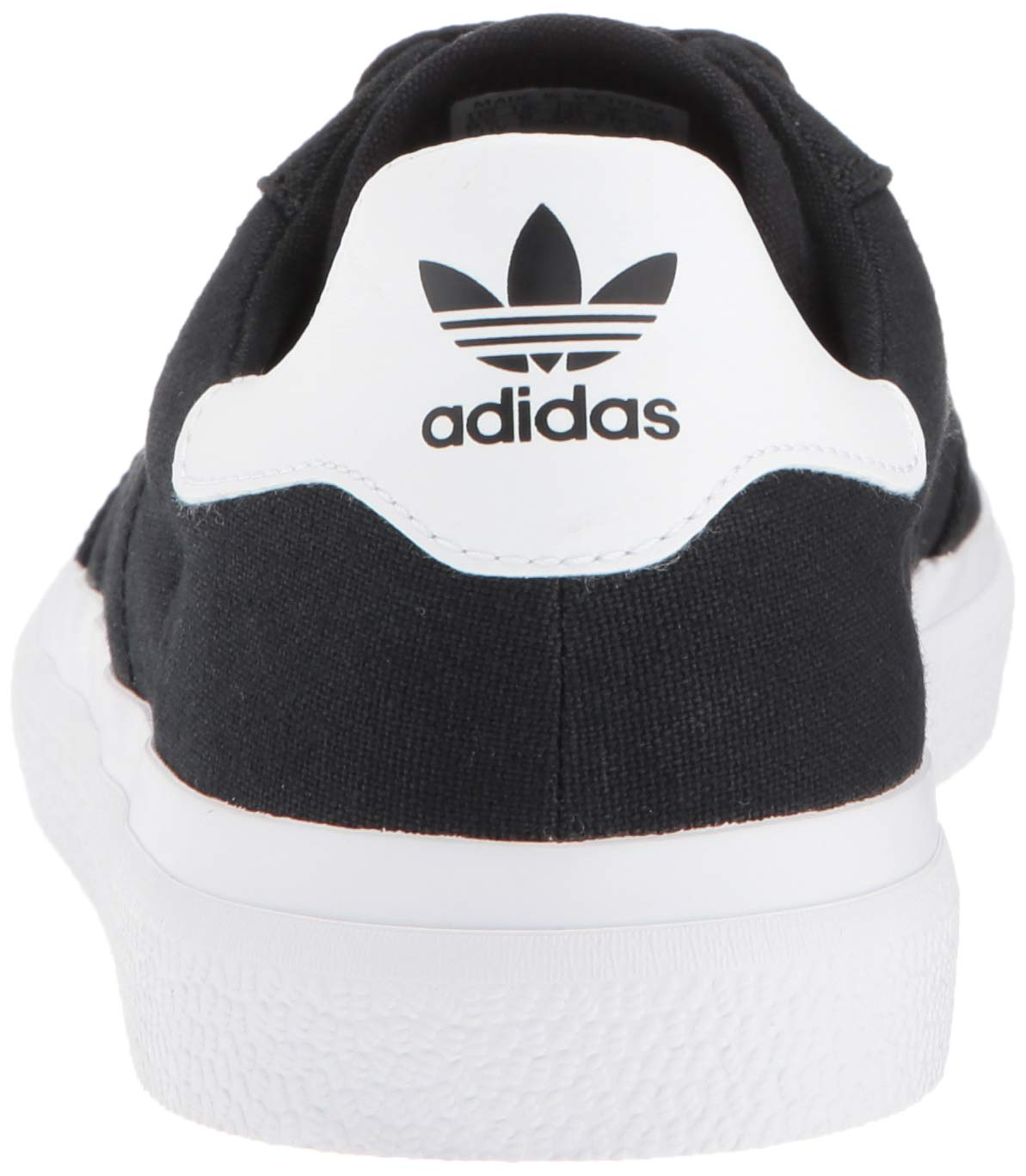 adidas Originals unisex-adult Black/White, 3 MC Skate Shoe 6.5 M US by adidas Originals (Image #2)