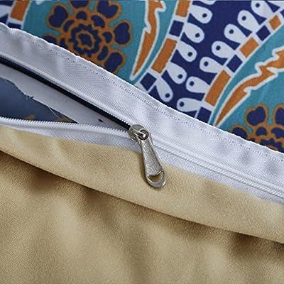 Boho Bedding Sets Polyester - Sport Do Brushed Reactive Printing 14 Beautiful Patterns NO FILLER Twin