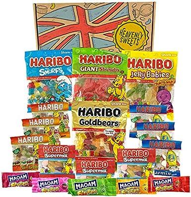 Heavenly Sweets Surtido Haribo en Caja - Mix Ositos de Goma ...