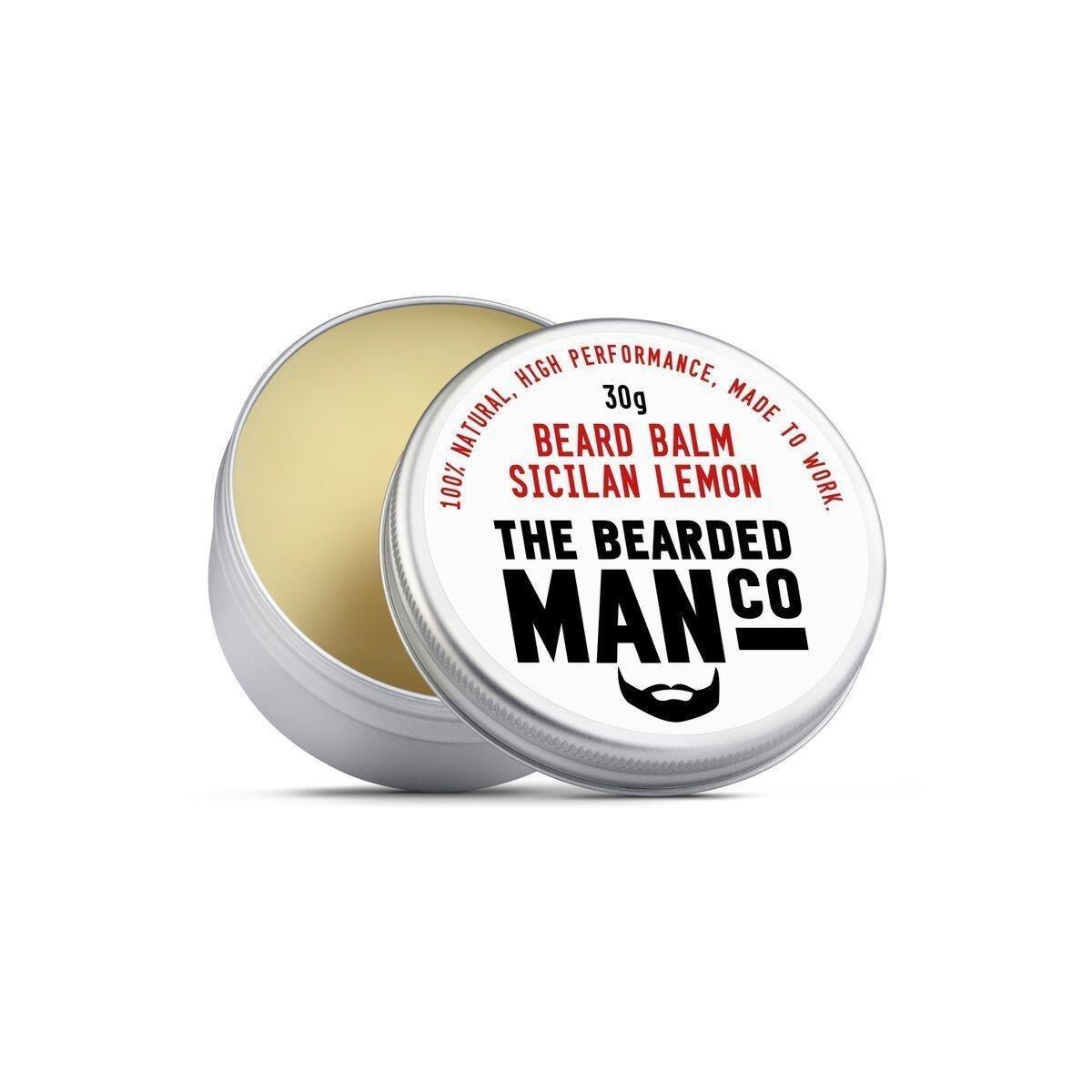 The Bearded Man Beard Balm silician Lemon 30g