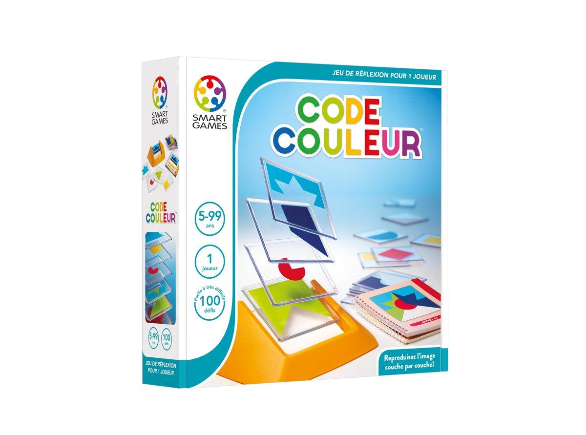 Smart Games - SG 090 FR - Jeu de réflexion - Tangram en 3D - Code Couleur [Französische Edition]