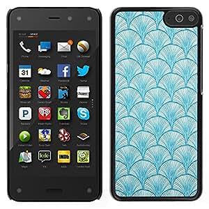 LECELL--Funda protectora / Cubierta / Piel For Amazon Fire Phone -- Patrón de Baby Blue Colores Wallpaper --
