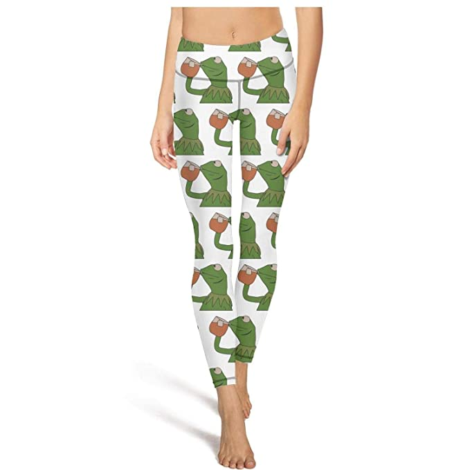 Amazon.com: Funny Green Frog Sipping Tea Printed Fashion Hot ...