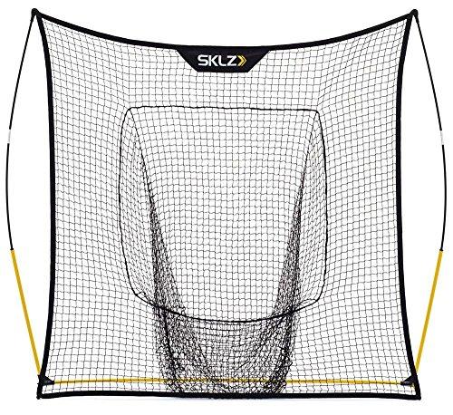 SKLZ Quickster Vault Net. Extra Wide Mouth Baseball Training Net. 8'x8'