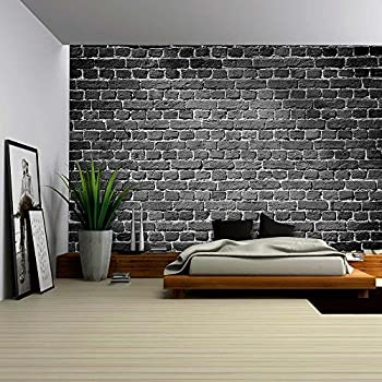 Lovely Wall26   Old Dark Brick Wall, Texture Background   Removable Wall Mural |  Self  Part 8