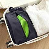 Travel-Waterproof-Nylon-Shoe-Bags-with-Zipper-Closure-Pack-of-5