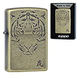 Zippo TIGER FACE BRA Lighters Made in USA South Korea Version