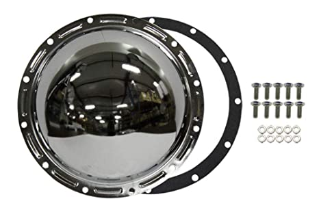 Pirate Mfg Chrome Steel 12-Bolt AMC 20 Axle Differential Cover