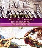 Cruden's Complete Concordance to the Apocrypha circa 1806