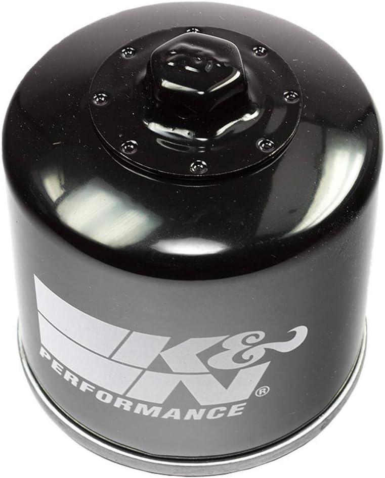 K/&N del filtro dellolio nero KN 191 per Triumph.