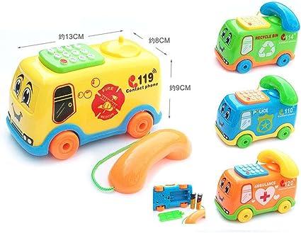 Music Baby Toy Cartoon Phone Kids Toys Gift Developmental Educational