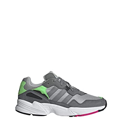 online store 83796 7eccd adidas Originals Mens Yung-96 Grey Two F17Grey Three F17Shock Pink