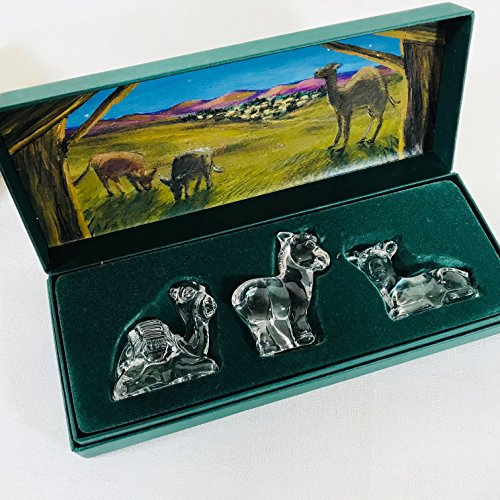 Marquis Waterford Crystal Nativity - Figurines Waterford Nativity