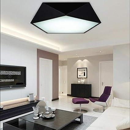 Amazon.com: PLLP - Lámpara de techo, para el hogar, salón ...