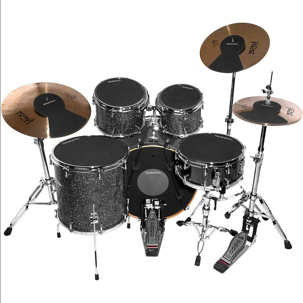 Drum Silencer Pack with Cymbal and Hi-hat Mutes 10, 12, 13, 14, 14, 16 and 22 in.