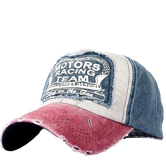 ... Uomo Donna Motors TACING Team Lavato Moisture Wicking Berretto da  Baseball Eagle Eye Cappello Ricamato in Cotone By WUDUBE  Amazon.it   Abbigliamento a94a1df49cdd