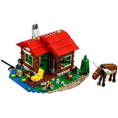 LEGO Creator Lakeside Lodge 31048 Building Toy: Toys & Games